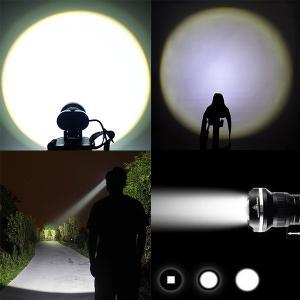 SUCCUL LEDヘッドライト 懐中電灯 乾電池 3モード ズーム調整可能 1800LM CREE XML T6 ヘッドランプ 防災 調節可 高光量 軽量|succul|06
