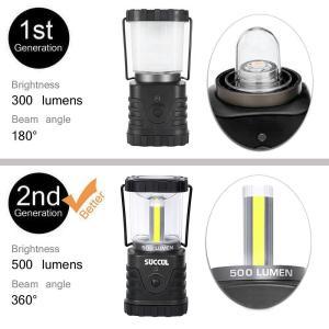 LEDランタン 3モード 昼白色 500LM 最大点灯40時間 防水 アウトドア キャンプ 登山 釣り 夜間 防災 緊急 懐中電灯|succul|03