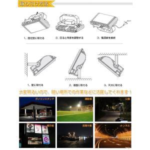 LED投光器 30W 昼光色 ACプラグ付 1.5M配線 防水 長寿命 看板灯 集魚灯 作業灯に/家庭用コンセントでOK SUCCUL|succul|06