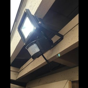 LED投光器 10W 100W相当 センサーライト 人感 防水ACプラグ 1.5M配線付 屋外 昼光色 防犯ライト 駐車場 倉庫 防水加工 広角 防水 SUCCUL|succul|11