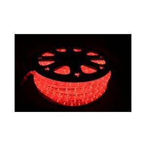 SUCCUL LEDチューブライト(ロープライト) レッド 赤 2芯タイプ 100m 直径10mm 3000球 一ヶ月保証|succul