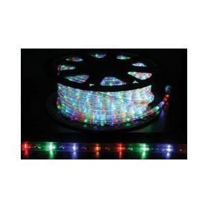 SUCCUL LEDチューブライト(ロープライト) 4色 ミックスカラー 2芯タイプ 100m 直径10mm 3200球 一ヶ月保証|succul