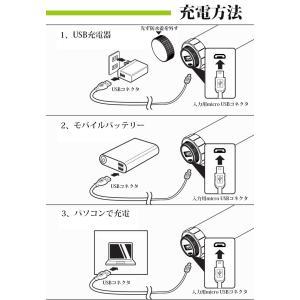 充電式携帯型LEDライト Φ3.5×23cm 防水 USB充電 マグネット 磁石付き 災害時 緊急時 作業灯 手持ち 蛍光灯 キャンプ アウトドア succul 04