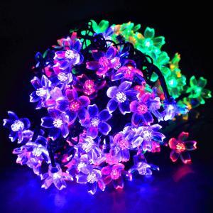 LEDイルミネーション 桜 さくら 10m 100球 ストレートライト コントローラー付き 防雨 クリスマス ライト 電飾 飾り|succul|04
