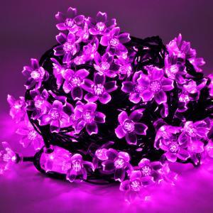 LEDイルミネーション 桜 さくら 10m 100球 ストレートライト コントローラー付き 防雨 クリスマス ライト 電飾 飾り|succul|05