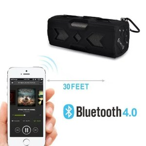 ポータブル Bluetooth4.0 スピーカー ワイヤレススピーカー 内蔵マイク 防水 NFC搭載 パッテリー 充電器|succul|03