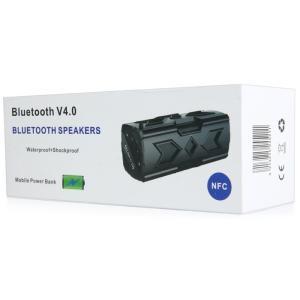 ポータブル Bluetooth4.0 スピーカー ワイヤレススピーカー 内蔵マイク 防水 NFC搭載 パッテリー 充電器|succul|06
