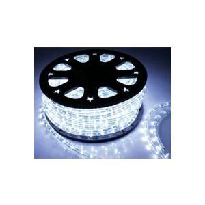 SUCCUL LEDチューブライト(ロープライト) ホワイト 白 2芯タイプ 100m 直径10mm 3000球 一ヶ月保証|succul