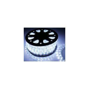 SUCCUL LEDチューブライト(ロープライト) ホワイト 白 2芯タイプ 100m 直径13mm 3000球 一ヶ月保証|succul