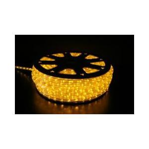 SUCCUL LEDチューブライト(ロープライト) 黄色 イエロー 2芯タイプ 100m 直径10mm 3000球 一ヶ月保証|succul