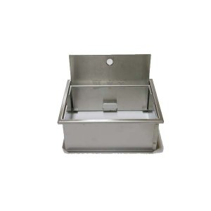 散水栓ボックス SN-1 ステンレス製(床用浅型) sudasyop 02
