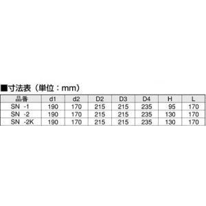 散水栓ボックス SN-1 ステンレス製(床用浅型) sudasyop 04
