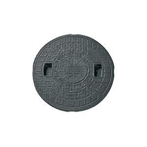 マンホール Joto 丸マス蓋 ブラック 樹脂製  350型(直径385mm) JM350C (穴なし) 城東テクノ|sudasyop