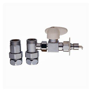 食器洗い機接続用水栓部品です。 壁付混合栓の本体と偏心管の間から食器洗い機や浄水器に水を分岐し、湯水...