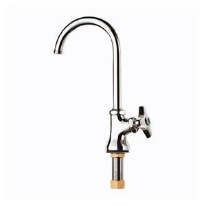 水栓金具 立形ツル首自在水栓 JA56J-13 三栄水栓|sudasyop