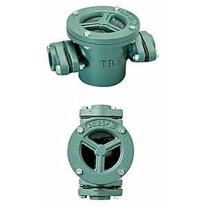 TB式砂取器 (鋳鉄製)TB3736 25A 東邦工業|sudasyop