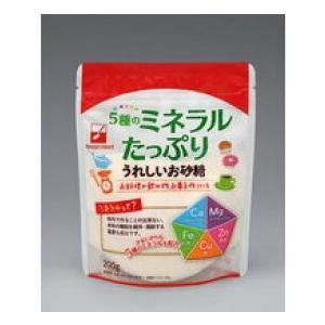食品 送料無料 ポイント消化 5種類のミネラルたっぷりうれしいお砂糖 200g |suehiro-cop