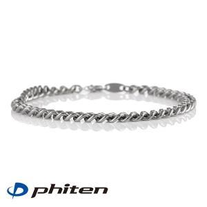 トレーニング ファイテン phiten 正規品 チタンチェーンブレスレット 17cm ブランド メン...