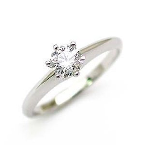立爪 エンゲージリング ダイヤモンド ダイヤ プラチナ リング 婚約指輪|suehiro