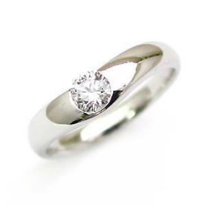 鑑定書付き エンゲージリング ダイヤモンド ダイヤ プラチナ リング 婚約指輪 夏|suehiro