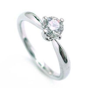 鑑定書付き エンゲージリング ダイヤモンド ダイヤ プラチナ リング 婚約指輪 セール 母の日 春|suehiro