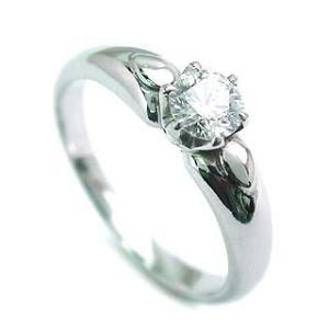 立爪 エンゲージリング ダイヤモンド ダイヤ プラチナ リング 婚約指輪 夏|suehiro
