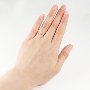 エンゲージリング 婚約指輪 ダイヤモンド ダイヤ プラチナ リング 夏|suehiro|02