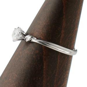 エンゲージリング 婚約指輪 ダイヤモンド ダイヤ プラチナ リング 夏|suehiro|03