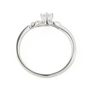 エンゲージリング 婚約指輪 ダイヤモンド ダイヤ プラチナ リング 夏|suehiro|04