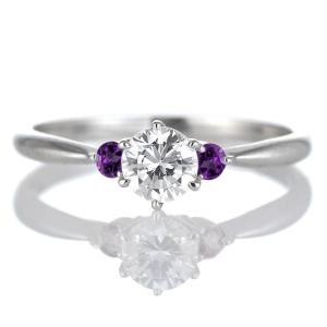婚約指輪 プラチナ ダイヤモンドリング エンゲージリング 誕生石|suehiro|06