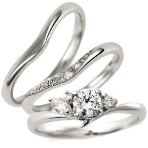 婚約指輪 結婚指輪 セットリング ダイヤモンド プラチナ エンゲージリング マリッジリング ペアリング 重ね付け セール クリスマス プレゼント|suehiro