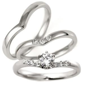 婚約指輪 結婚指輪 セットリング ダイヤモンド プラチナ エンゲージリング マリッジリング ペアリング セットで セール クリスマス プレゼント|suehiro