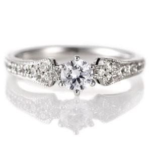 婚約指輪 ダイヤモンド ダイヤ プラチナ リング 0.3ct 天然石 エンゲージリング 鑑別書 セール クリスマス プレゼント suehiro