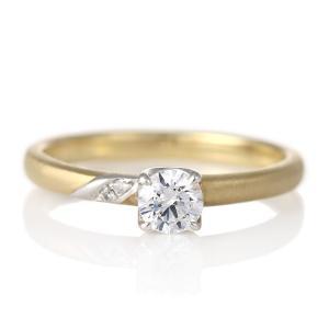 婚約指輪 ダイヤモンド プラチナ ゴールド リング 0.3ct 天然石 エンゲージリング 鑑定書 セール クリスマス プレゼント|suehiro
