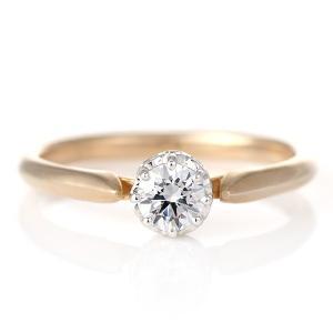 婚約指輪 ダイヤモンド プラチナ ゴールド リング 0.3ct 天然石 エンゲージリング 鑑定書 夏|suehiro