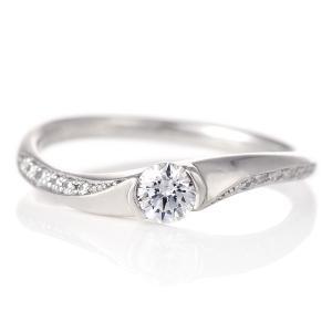 婚約指輪 ダイヤモンド プラチナ リング 0.3ct 天然石 エンゲージリング 鑑定書 セール クリスマス プレゼント suehiro