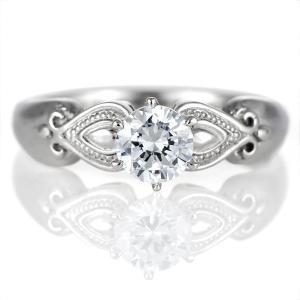 ダイヤモンド リング プラチナ 婚約指輪 0.5カラット 鑑別書 セール|suehiro