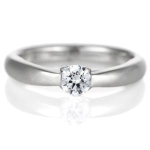 ダイヤモンド リング プラチナ 婚約指輪 0.3カラット 鑑別書 シンプル セール|suehiro