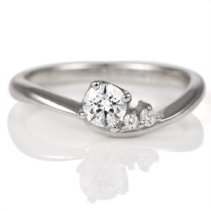 婚約指輪 ダイヤモンド ダイヤ プラチナ リング 0.3ct エンゲージリング 鑑定書 セール クリスマス プレゼント suehiro