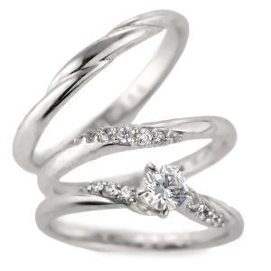 婚約指輪 結婚指輪 セットリング ダイヤモンド プラチナ エンゲージリング マリッジリング ペアリング 鑑定書 セール クリスマス プレゼント|suehiro