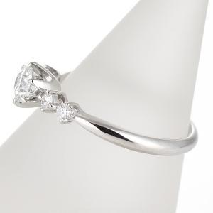 婚約指輪 鑑定書 ダイヤモンド プラチナ リング エンゲージリング 一粒 大粒|suehiro|02