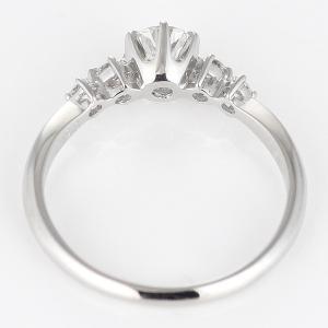 婚約指輪 鑑定書 ダイヤモンド プラチナ リング エンゲージリング 一粒 大粒|suehiro|03