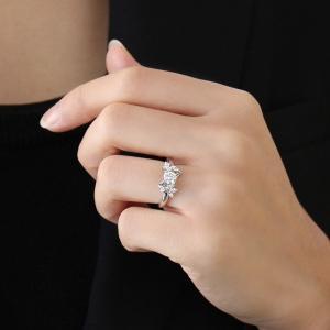婚約指輪 エンゲージリング ダイヤモンド ダイヤ リング 指輪 人気 ダイヤ プラチナ リング 夏|suehiro|02