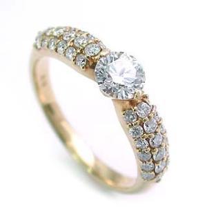ダイヤモンド指輪 ダイヤモンド ダイヤ パヴェ 指輪 リング 夏|suehiro