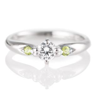 婚約指輪 エンゲージリング プラチナ ダイヤモンド ダイヤ リング|suehiro