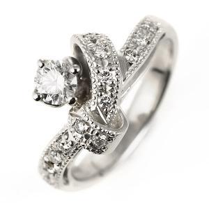 エンゲージリング 婚約指輪 ダイヤモンド ダイヤ リング プラチナ アンティーク|suehiro|02