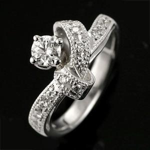 エンゲージリング 婚約指輪 ダイヤモンド ダイヤ リング プラチナ アンティーク|suehiro|03