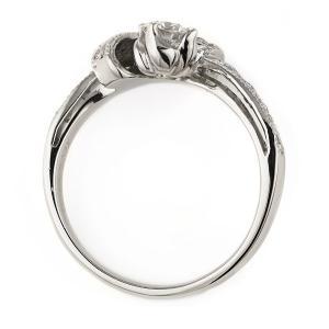 エンゲージリング 婚約指輪 ダイヤモンド ダイヤ リング プラチナ アンティーク|suehiro|04