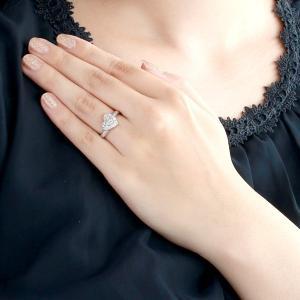 エンゲージリング 婚約指輪 ダイヤモンド ダイヤ リング 婚約指輪 ダイヤモンド ダイヤ プラチナエンゲージリングBrand Jewelry アニーベル 夏|suehiro|02
