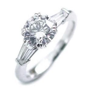 ダイヤモンド指輪 ソリティア 一粒 大粒 ダイヤモンド ダイヤ リング 1カラット 夏|suehiro